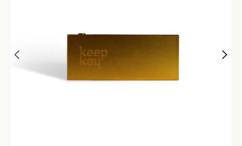 کیف پول سخت افزاری کیپ کی طلایی